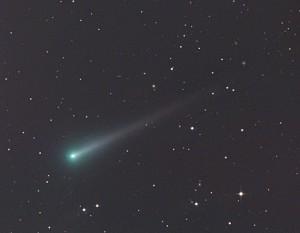 "Komet ISON am 29. Oktober. CCD-Aufnahme, 3:15 MEZ, 12""-Astrograph bei 1150mm, FLI ML 8300, 15min (je LRGB). [Gerald Rhemann]"