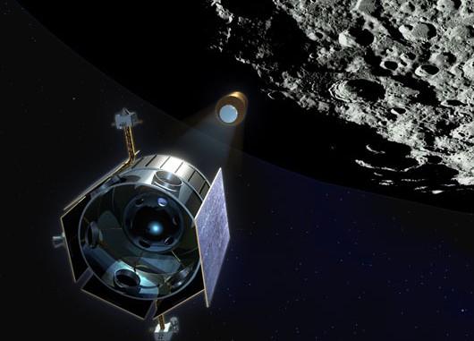 Heute gegen 13.30 MESZ wird die NASA-Sonde LCROSS auf dem Mond aufschlagen — die Ejectawolke könnte in Teleskopen sichtbar werden, die Bilder live im Internet übertragen.