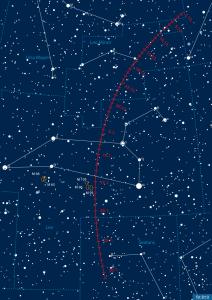 Eros im Dezember 2011/Januar 2012 [interstellarum, Gasparini]