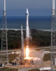 Start des Solar Dynamics Observatory der NASA am 11. Februar auf einer Atlas V. [Pat Corkery/United Launch Alliance]