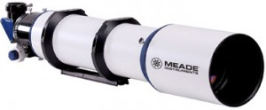 Die neue Serie 6000 von Meade umfasst ED-APO-Refraktoren mit 80mm, 115mm und 130mm Öffnung (im Bild 130mm). [Meade Europe]