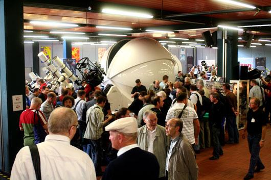 Der 25. ATT in Essen zog auch diesmal wieder die Besuchermassen an — wenn auch der Andrang nicht so groß war wie in den Vorjahren. [Manfred Holl]