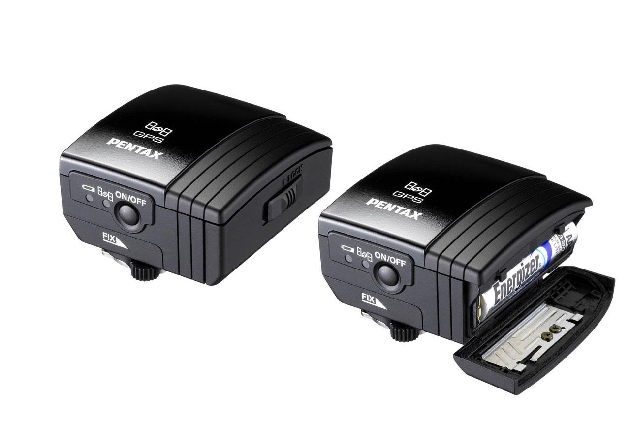 Das O-GPS-1 Modul von Pentax speichert GPS Daten und gleicht die Himmelsbewegung aus.