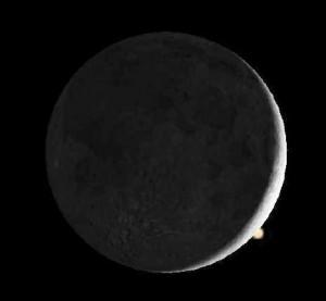 Der Mond bedeckt den Mars (2)