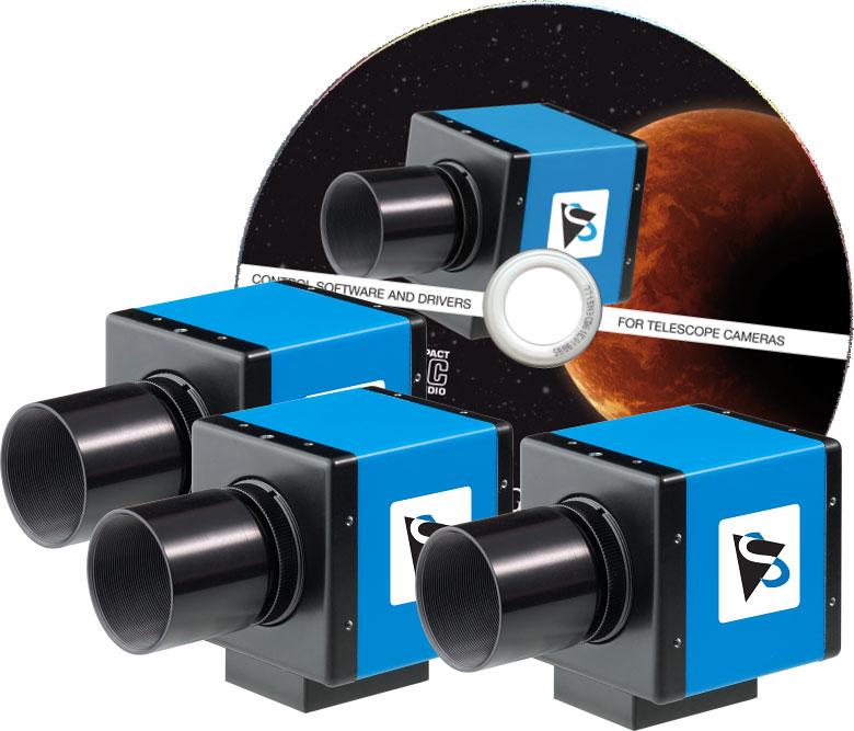 Die neuen Kameramodelle von The Imaging Source basieren auf dem Sony ICX274-Chip.
