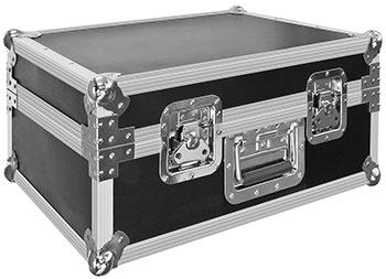 Ein Transportkoffer ist im Lieferumfang enthalten. [Explore Scientific]