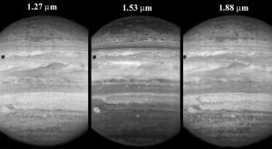 IR-Aufnahmen von Jupiter