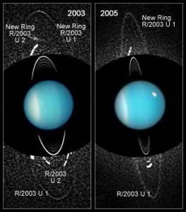 Neue Uranusringe