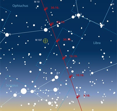 Neuer Komet McNaught sichtbar