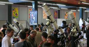 Refraktorparade in der großen Halle