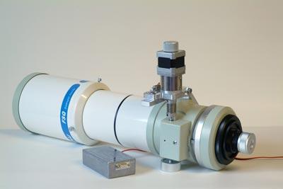 Robotischer Feinfokussierer von ICS