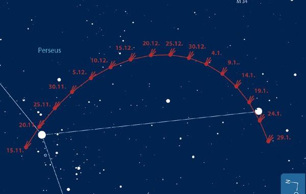 Sternbild Perseus (2)
