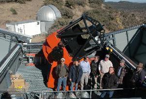 Teleskop in Texas