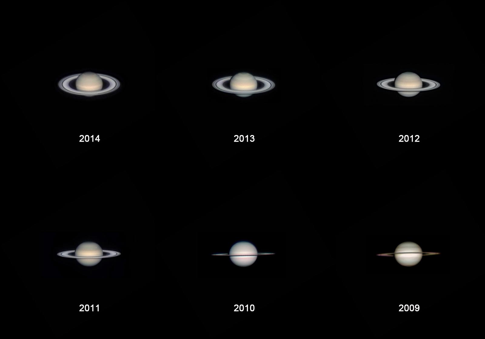 Saturn seit 2009
