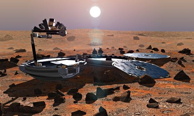 Beagle 2 spacecraft