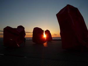 Sonnenuntergang Ostende PH