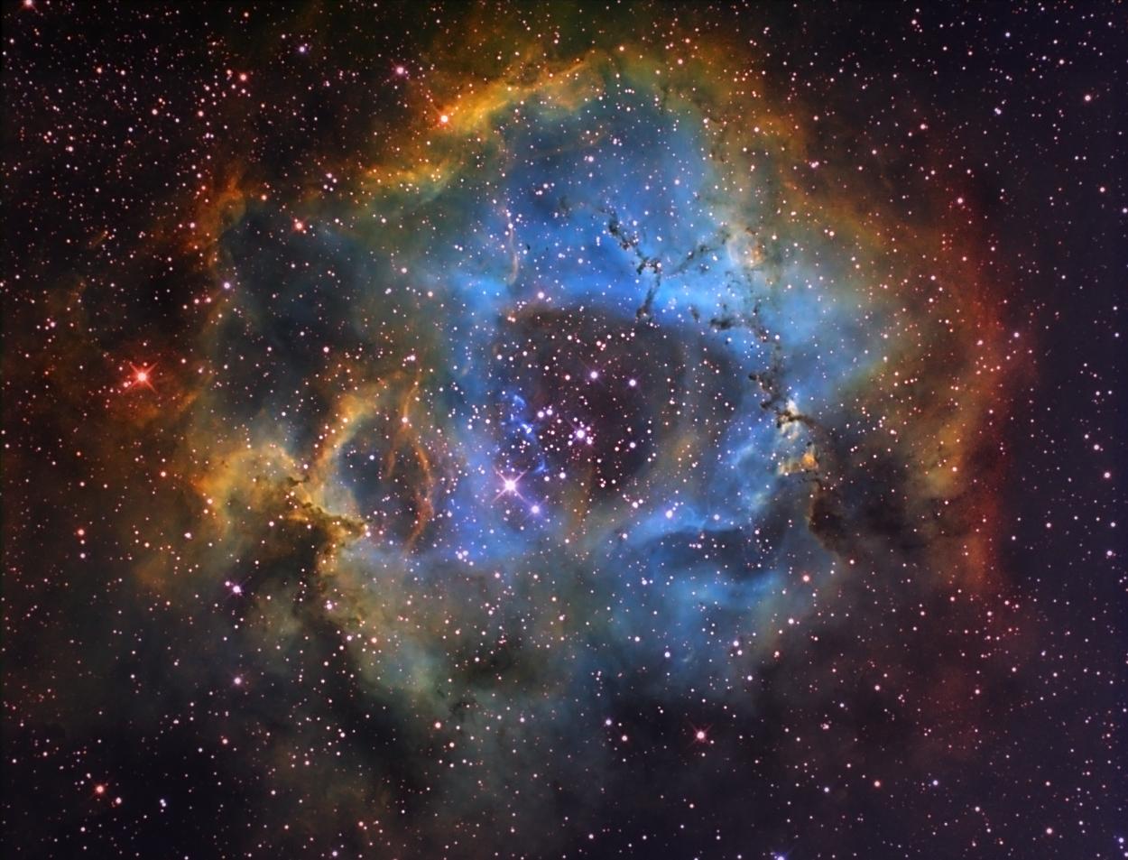 6 – NGC 2237 Rosetten-Nebel SHO_01