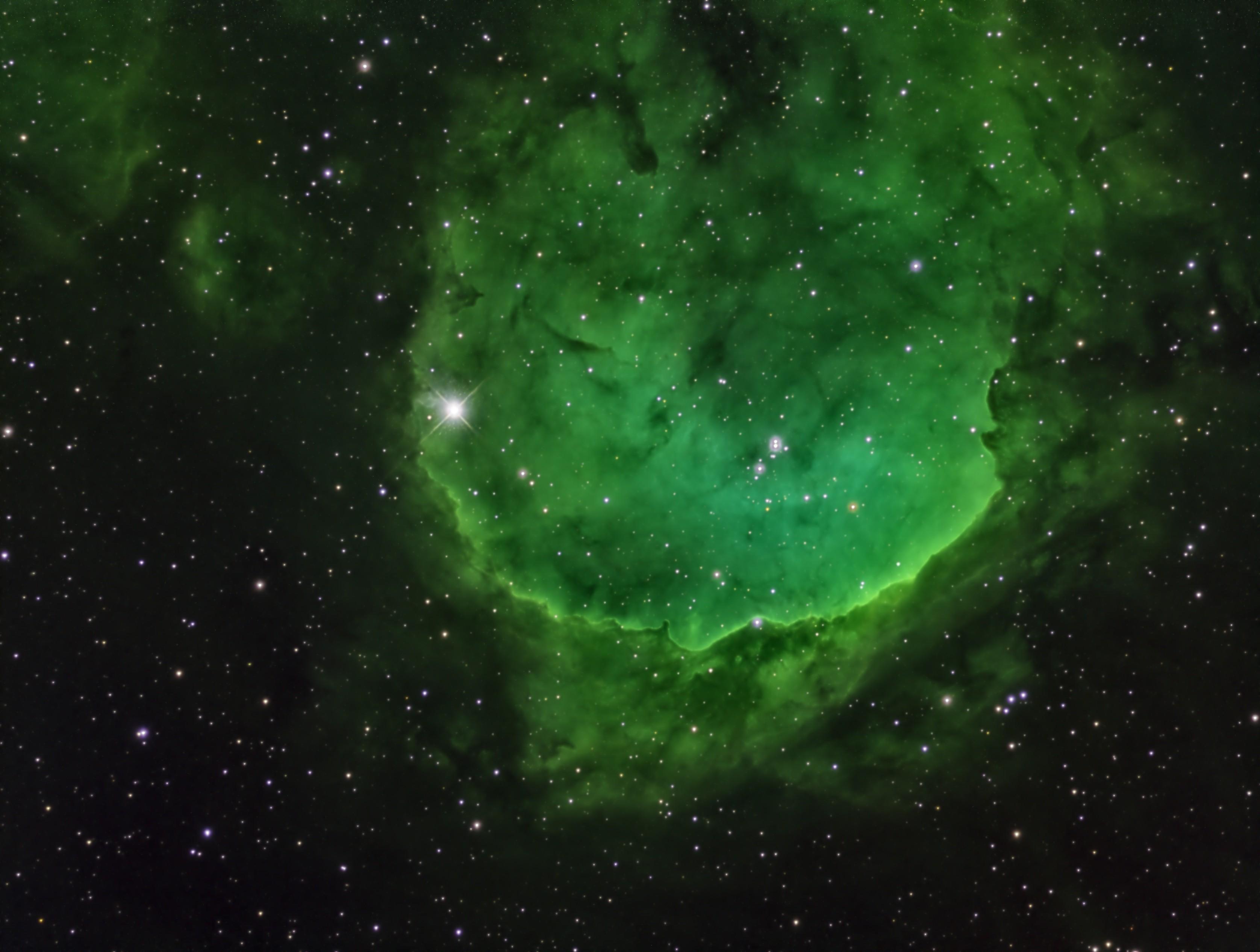 NGC 3324 narrowband