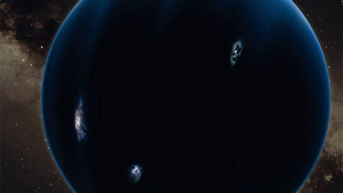 Planet NEUN, künstlerische Darstellung