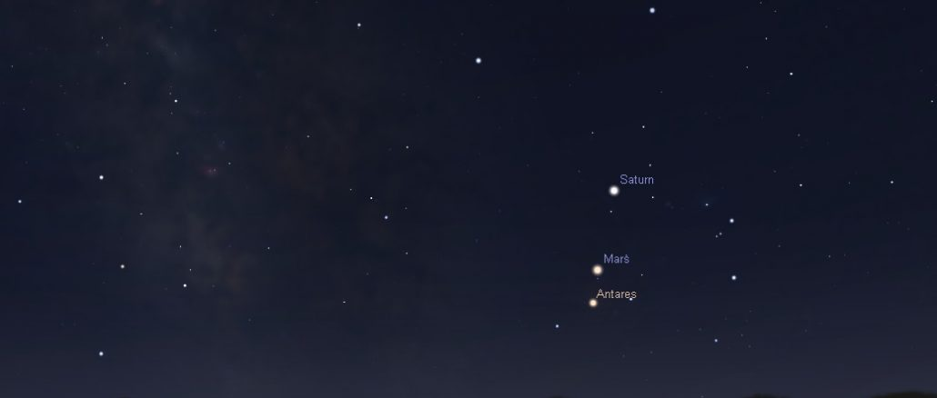 Mars trifft Antares