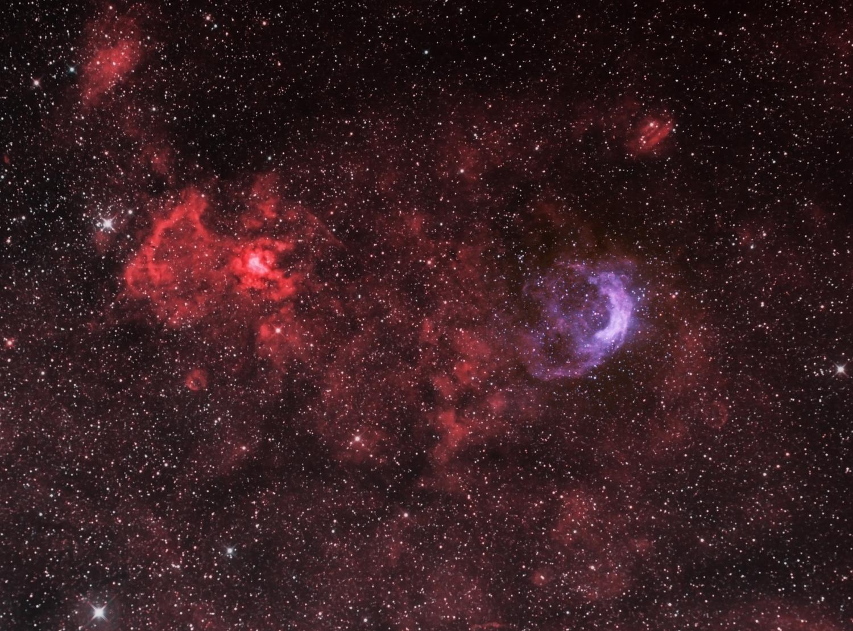 NGC 3199 HOO-Finale