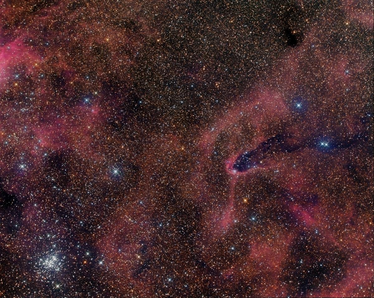 NGC 6231 Dark Turm