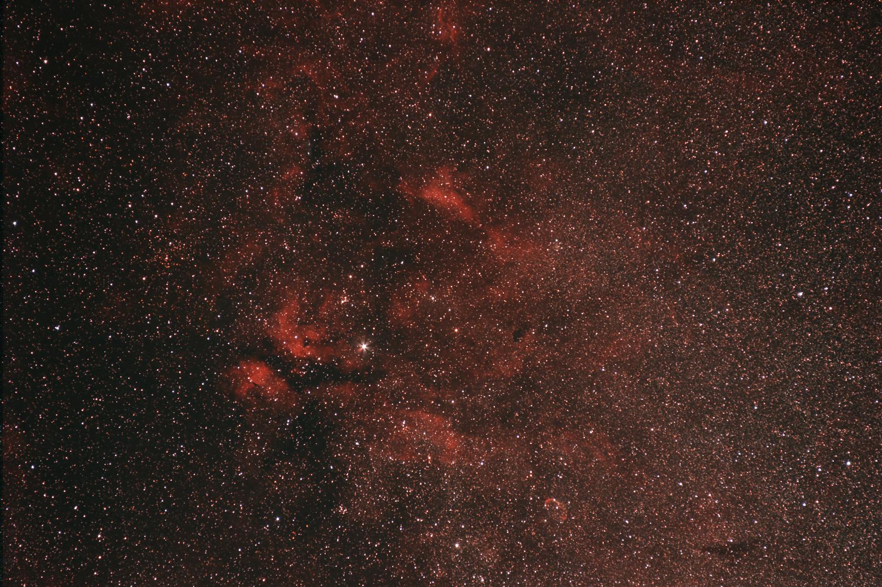 Nebel um Gamma Cygni,25.08.16(2)