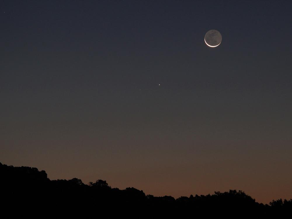 Mond und Merkur web