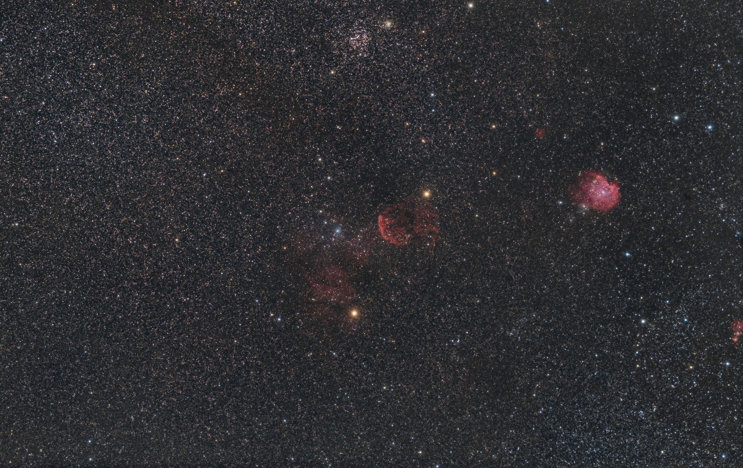 IC443_NGC2174_M35_NGC2158_Sh2_254