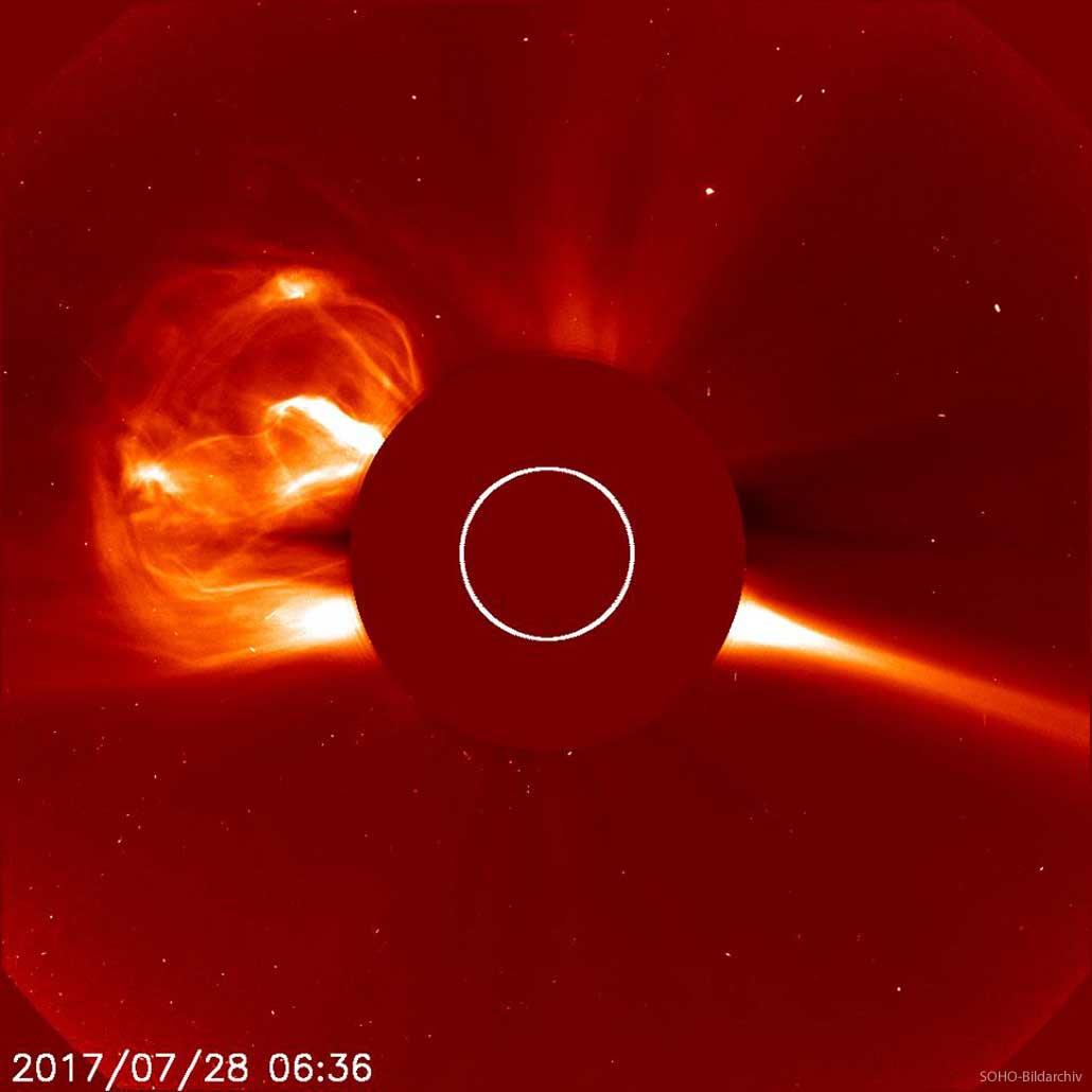 Koronaler Massenauswurf auf der Sonne