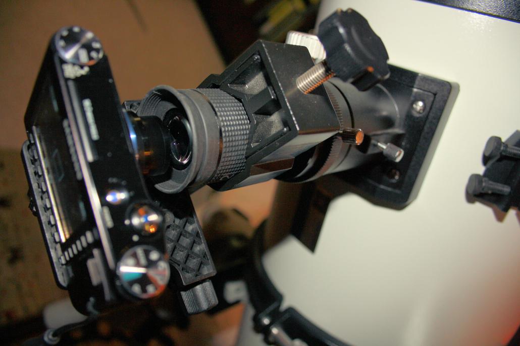 Wie funktioniert eigentlich okularprojektion? abenteuer astronomie
