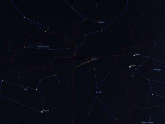 Ceres vom 23.1. bis 24.2.2018