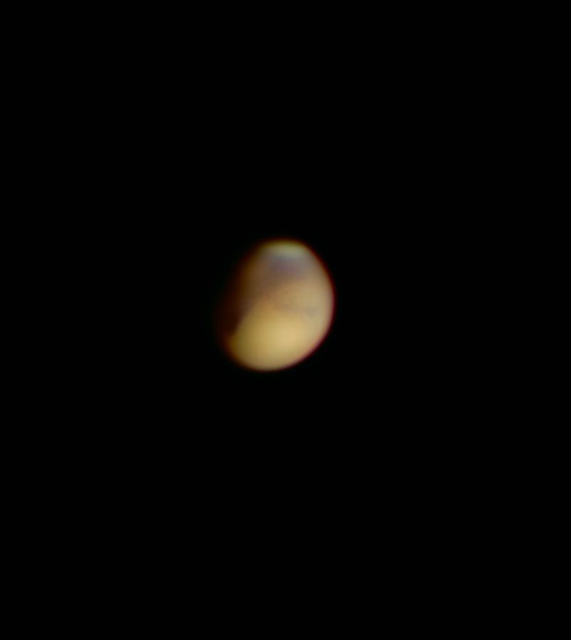 Mars am Morgenhimmel 5