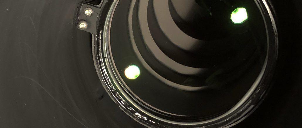 Blenden in einem Refraktor