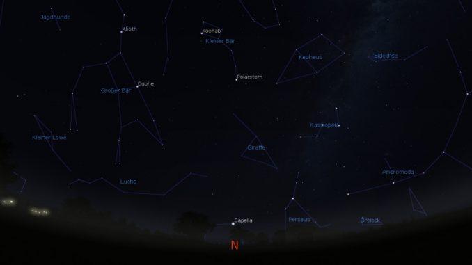Blick nach Norden 8.6.2018, 1:30 MESZ
