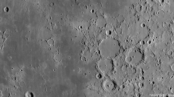 Catena Davy auf dem Mond