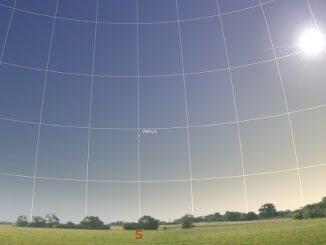 Venusposition Taghimmel 26.9.2018