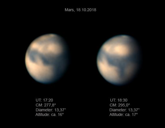 Mars im Oktober 2018 (2)
