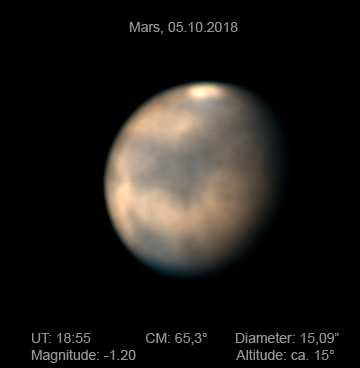 Mars,5.10.18,20.55MESZ(2)