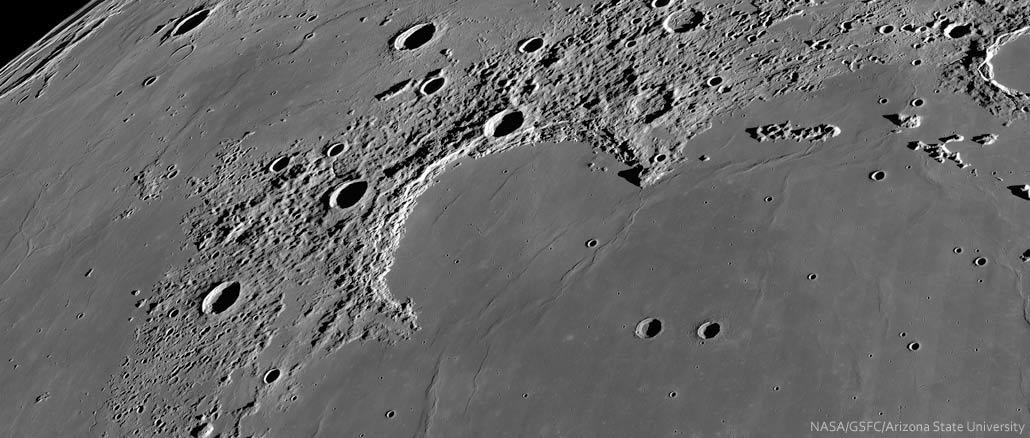 Spix' Blick zum Mond: Sinus Iridum – die Regenbogenbucht