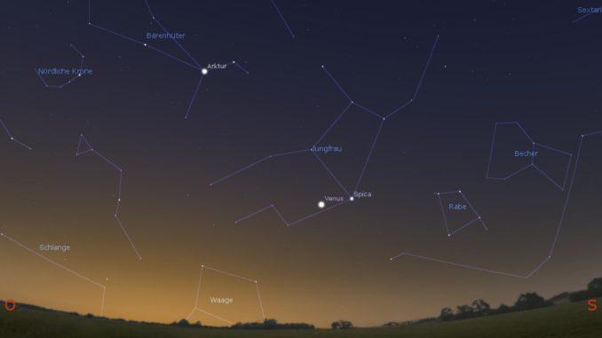 Venus im größten Glanz 29.11.2018